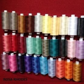COATS MOON SEWING THREADS 100% POLYESTER